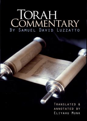 Torah Commentary by Samuel David Luzzatto (4 Vols. ) by Samuel David Luzzatto; Eliyahu Munk (Translator)