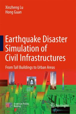 book cover:  Earthquake Disaster Simulation of Civil Infrastructures
