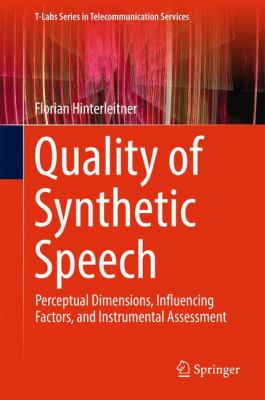 book cover: Quality of Synthetic Speech