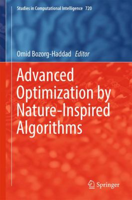 book cover: Advanced Optimization by Nature-Inspired Algorithms