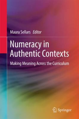 book cover: Numeracy in Authentic Contexts