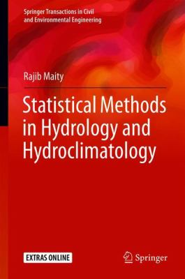 Book Cover: Statistical Methods in Hydrology and Hydroclimatology