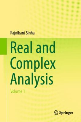 book cover: Real and Complex Analysis Volume 1