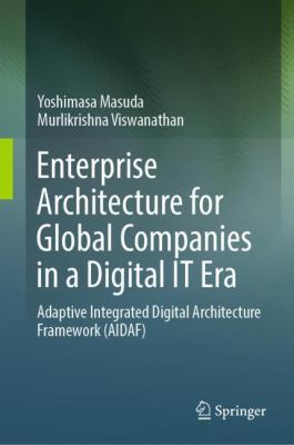 book cover: Enterprise Architecture for Global Companies in a Digital IT Era