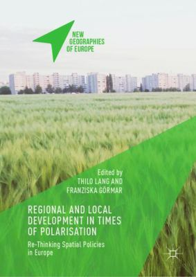 Book Cover : Regional and Local Development in Times of Polarisation
