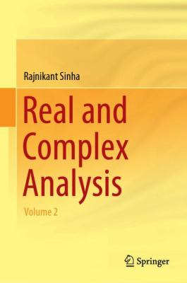 book cover: Real and Complex Analysis Volume 2