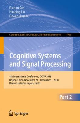 book cover: Cognitive Systems and Signal Processing