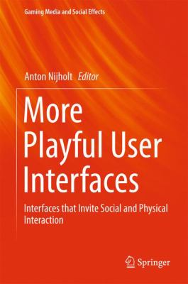 book cover: More Playful User Interfaces