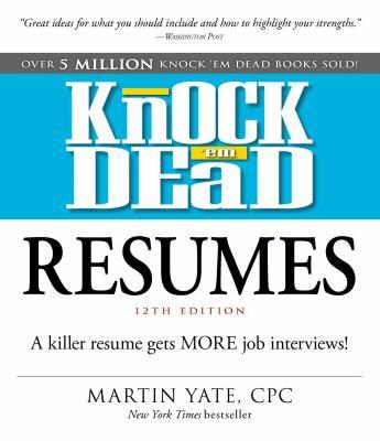 Knock 'em dead resum...