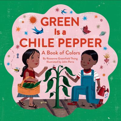 Green is a chile pepper :...