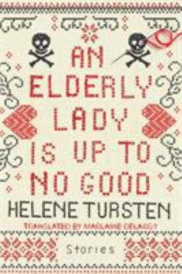 An elderly lady is up to ...