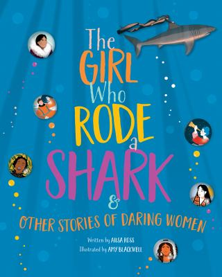 The girl who rode a shark...