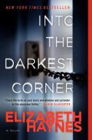 Into the darkest corner  cover