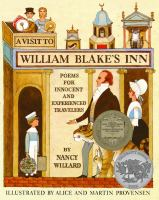 A Visit to William Blake's Inn: Poems for Innocent and Experienced Travelers cover