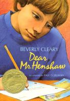 Dear Mr. Henshaw cover