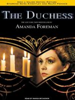 The Duchess  (Narrator: Wanda McCaddon) cover