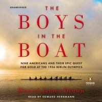 The Boys in the Boat  (Narrator: Edward Herrmann) cover