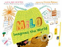 Cover art for Milo imagines the world