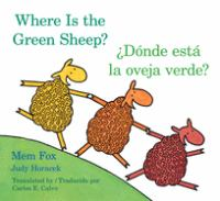 Where is the green sheep? = ¿Dónde está la oveja verde?