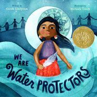 Arte de portada para We are water protectors