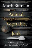 Arte de portada para Animal, vegetal, basura