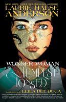 Arte de portada para Wonder Woman. Tempestad lanzada
