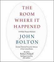 Cover art for The room where it happened