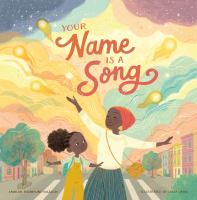 Cover art for Your name is a song