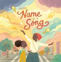 La portada de Tu nombre es una canción
