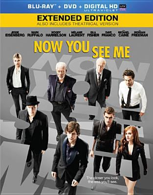 Now You See Me Blu-Ray/DVD - January