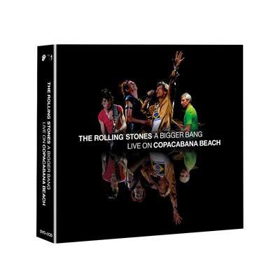 A bigger bang [sound recording (CD and DVD)] : live on Copacabana Beach