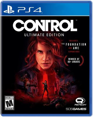 Control [electronic resource (video game for PS4)]