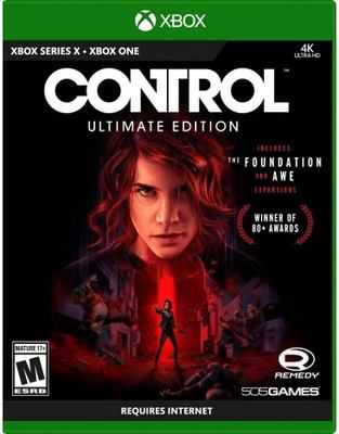 Control [electronic resource (video game for Xbox One)] ; ultimate edition