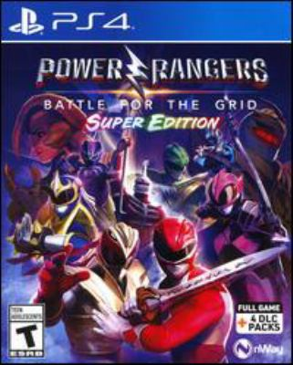 Power Rangers. Battle for the grid [electronic resource (video game for PS4)].