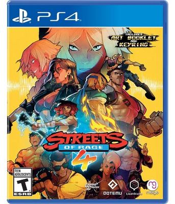 Streets of Rage 4 [electronic resource (video game for PS4)]