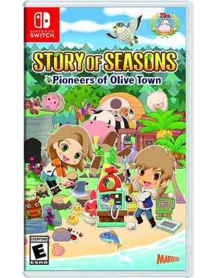 Story of seasons [electronic resource (video game for Nintendo Switch)]: pioneers of Olive Town.