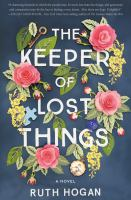 The Keeper of Lost Things jacket