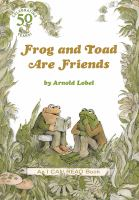 book jacket for Frog and Toad are Friends