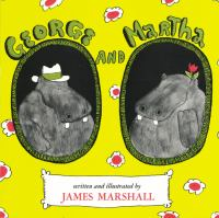 book jacket for George and Martha