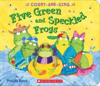 book jacket for Five Green and Speckled Frogs