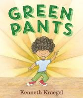 book jacket for Green Pants