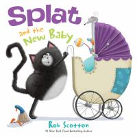 book jacket for Splat and the New Baby