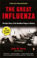 The Great Influenza book jacket