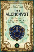 book jacket for The Alchemyst: The Secrets of the Immortal Nicholas Flamel