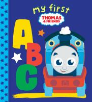 book jacket for My First Thomas & Friends ABC.