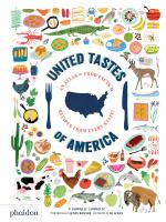 book jacket for United Tastes of America