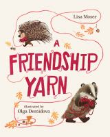 book jacket for A Friendship Yarn