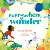 book jacket for Everywhere Wonder