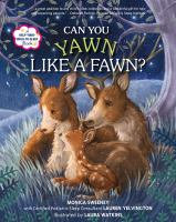 book jacket for Can You Yawn Like a Fawn?