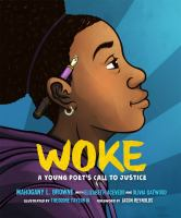 book jacket for Woke: A Young Poet's Call to Justice